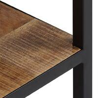 Table de chevet Bois de manguier massif 40 x 30 x 50 cm