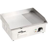 Plancha électrique Acier inoxydable 3000 W 54 x 41 x 24 cm