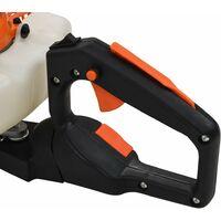 Taille-haie à essence 722 mm Orange et noir