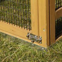 Kerbl Enclos pour lapins Pro 115x85x90 cm Bois 81720