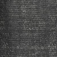 Filet brise-vue PEHD 1,5 x 50 m Noir
