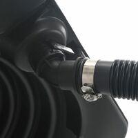 Chauffage solaire de piscine 75x75x36 cm HDPE Aluminium