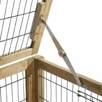 Kerbl Cage de petits animaux pour espace intérieur 116x75x70 cm Bois