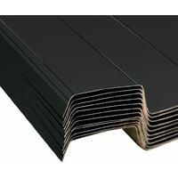 Panneaux de toiture 12 pcs Acier galvanisé Anthracite