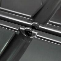 Composteur de jardin Noir 93,3x93,3x113 cm 740 L