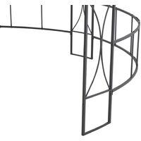 Belvédère 300 x 290 cm Blanc Rond