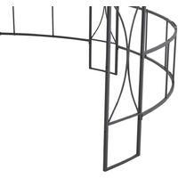 Belvédère 300 x 290 cm Anthracite Rond