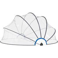 Dôme de piscine 440 x 220 cm