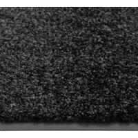 Paillasson lavable Noir 60x90 cm