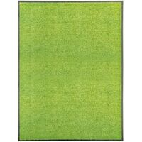 Paillasson lavable Vert 90x120 cm