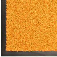 Paillasson lavable Orange 90x120 cm