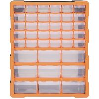 Organisateur multi-tiroirs avec 39 tiroirs 38x16x47 cm