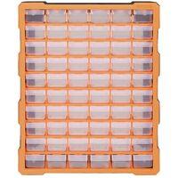 Organisateur multi-tiroirs avec 60 tiroirs 38x16x47,5 cm