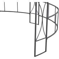 Belvédère 300x290 cm Taupe Rond