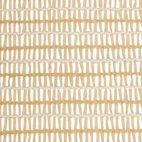 Filet brise-vue Beige 1,2x10 m PEHD 195 g/m²