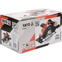 YATO Scie circulaire sans batterie 165 mm 18 V