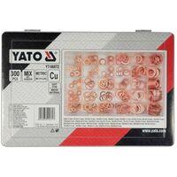 YATO Ensemble de 300 pièces de rondelles en cuivre YT-06872