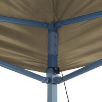 Tente de Réception Pliable 3x6 m Blanc Crème