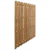 Panneau de clôture Pinède imprégnée 170 x 170 cm