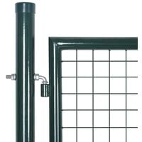 Portail de Clôture en Grillage Galvanisée 306x150 cm
