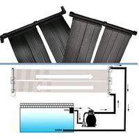 Panneau solaire de chauffage de la piscine 80x620 cm
