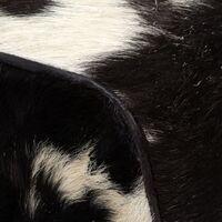 Tabouret Cuir Véritable de Chèvre 40x30x45 cm Modèle 2