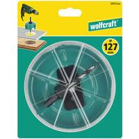 wolfcraft Scie cloche 127 mm Acier au carbone Turquoise 5973000