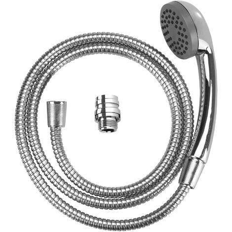 Douchette pour lavabo, robinet douchette, 150 cm, acier chromé