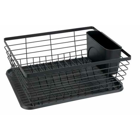 Égouttoir vaisselle inox noir Drip