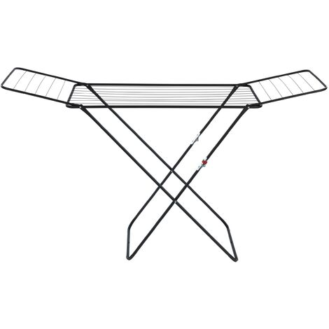 WENKO Séchoir à linge pliable, étendoir à linge, Champion, usage intérieur et extérieur
