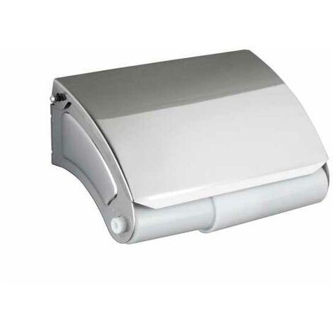 Dérouleur papier WC avec couvercle Basic WENKO