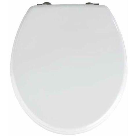 Abattant WC Prima blanc, MDF, fixation inox WENKO