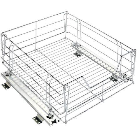Tiroir coulissant cuisine pour placard, aménagement intérieur placard, Maxi, 23x47x49 cm WENKO