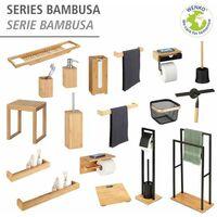 Etagere Salle de bain bambou, L40 cm, Bambusa