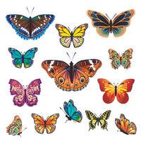 Déco pour fenêtre Papillons WENKO