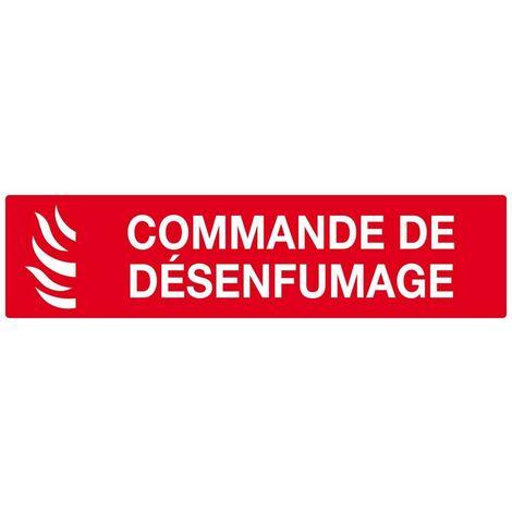 COMMANDE DE DESENFUMAGE 200X52MM SOFOP TALIAPLAST - 620117 - -