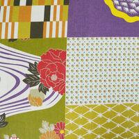 PATCHWORK- Storage Ottoman Stool / Blanket Box / Padded Trunk - Multicoloured