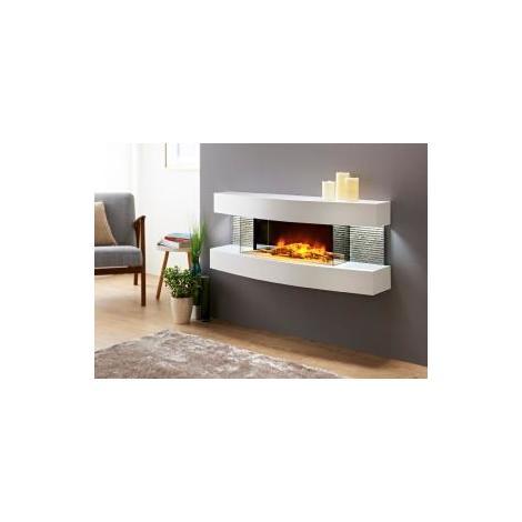Chimenea electrica efecto fuego y calefactor