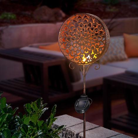 Solar Lilie Gartenstecker Solarlampe Gartenleuchte für Ihrer