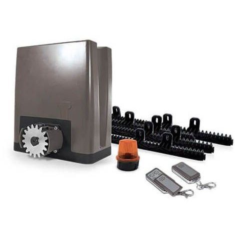 Motorisation pour portail coulissant PVC, bois, alu, acier - OREA 500 PLUS (24V) - Motorisation