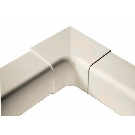 Pack de 4 intérieurs d'angle 90° 110 mm blanc pur