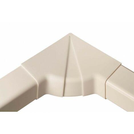 Pack de 4 intérieurs d'angle 80-105° 80 mm blanc pur