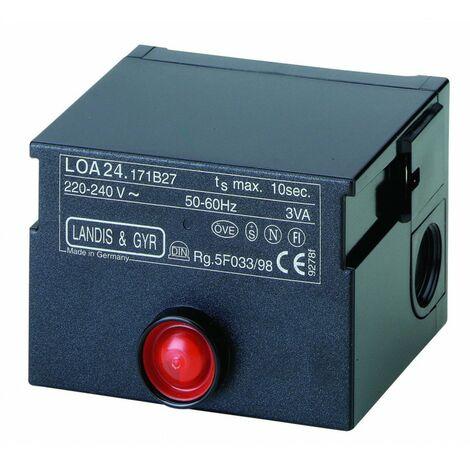 Cajas de control para calderas