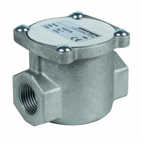 Filtre à gaz 6 bar raccord 1/2'' sans prise pression FGS16