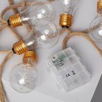 Guirlande d'Ampoules LED Kamba 2m Blanc Chaud 2700K - 3000K - Blanc Chaud 2700K - 3000K