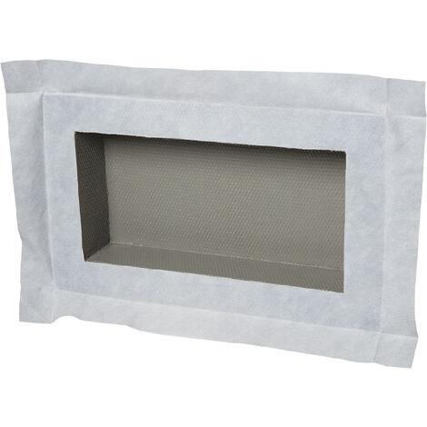 Niche à carreler étanche - format intérieur 40 x 20 cm - 9 cm de profondeur