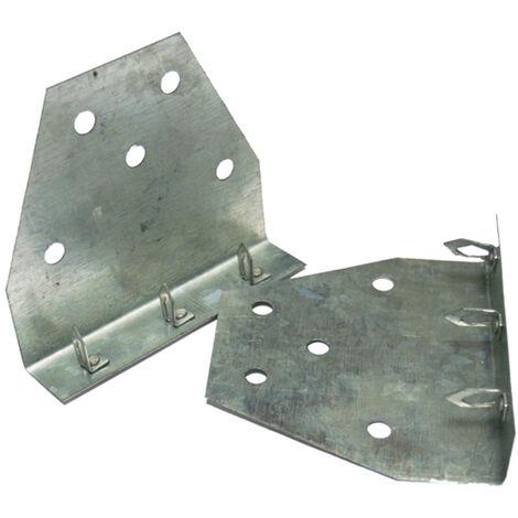 Accessoire douche à l'italienne - ancrages muraux pour panneaux à carreler (2)