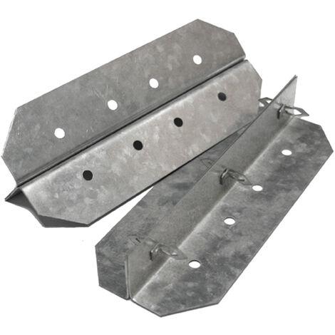Accessoire douche à l'italienne - ancrages de joints pour panneaux à carreler (2)