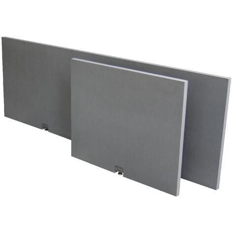 Tablier de baignoire 180 x 60 x 3 cm d'épaisseur - vérins integrés
