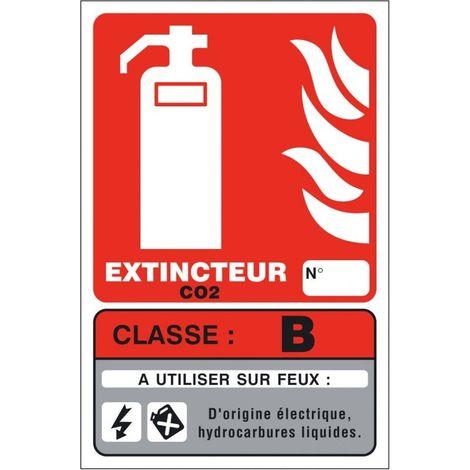 Panneaux Extincteur Classe B